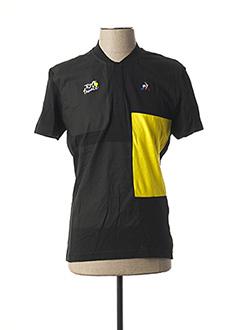 T-shirt manches courtes noir LE COQ SPORTIF pour homme