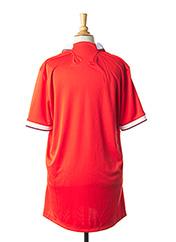 T-shirt manches courtes orange LE COQ SPORTIF pour homme seconde vue