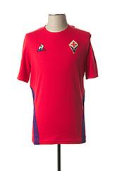 T-shirt manches courtes rouge LE COQ SPORTIF pour homme seconde vue