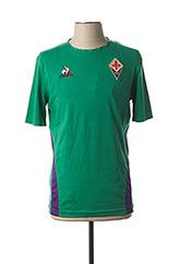 T-shirt manches courtes vert LE COQ SPORTIF pour homme seconde vue