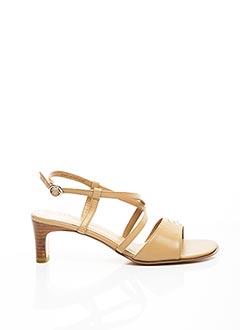 Sandales/Nu pieds beige ELITE pour femme