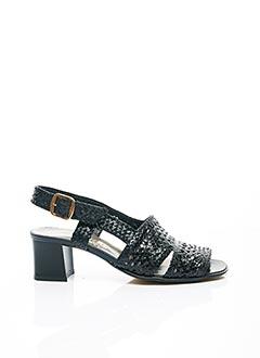 Sandales/Nu pieds bleu CARLINE pour femme