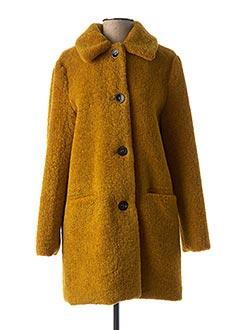 Manteau long jaune LE PETIT BAIGNEUR pour femme