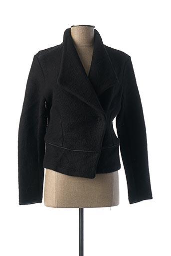 Veste casual noir ONE STEP pour femme