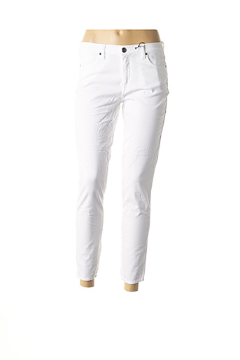 Pantalon 7/8 blanc EMMA & CARO pour femme