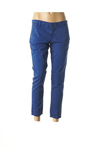 Pantalon 7/8 bleu ACQUAVERDE pour femme