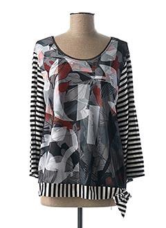 T-shirt manches longues noir APRICO pour femme