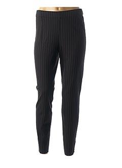 Pantalon 7/8 noir ELEMENTE CLEMENTE pour femme
