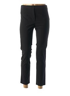 Pantalon 7/8 noir ONE O ONE pour femme