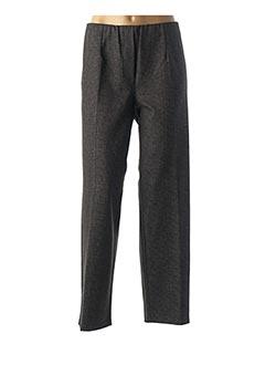 Pantalon casual gris ONE O ONE pour femme