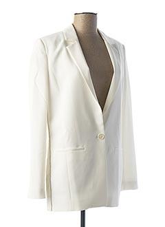 Veste chic / Blazer blanc TRUSSARDI JEANS pour femme