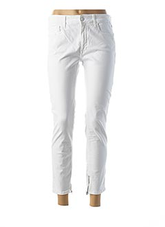 Jeans coupe slim blanc REPLAY pour femme
