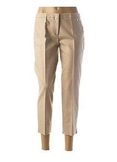 Pantalon 7/8 beige TRUSSARDI JEANS pour femme