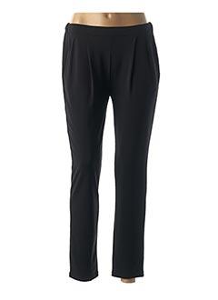 Pantalon casual noir LA FEE MARABOUTEE pour femme
