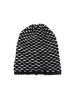 Bonnet noir BLANC BOHEME pour femme