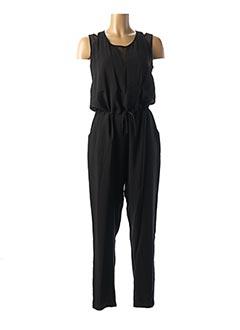 Combi-pantalon noir EVA KAYAN pour femme