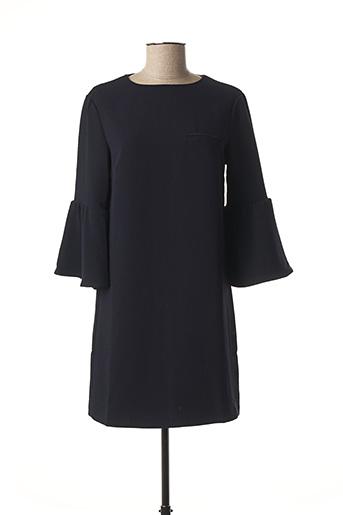 Robe courte bleu CUBIC pour femme