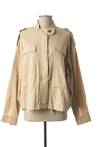 Veste casual beige VILA pour femme