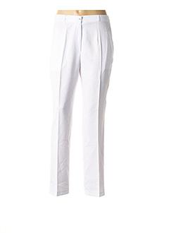 Pantalon casual blanc MULTIPLES pour femme