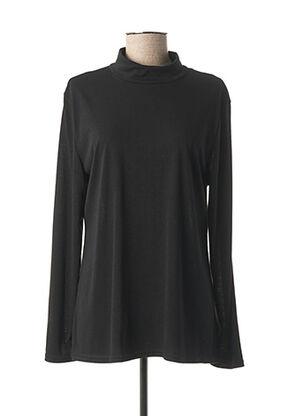 Sous-pull noir MULTIPLES pour femme