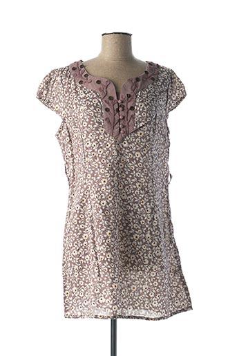 Robe courte violet MULTIPLES pour femme