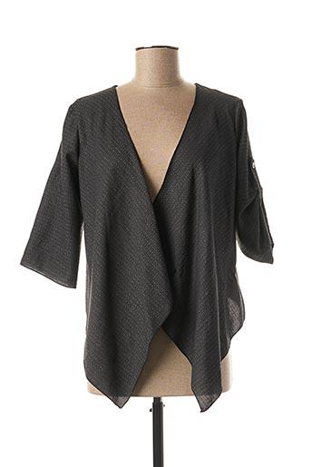 Veste casual gris MULTIPLES pour femme