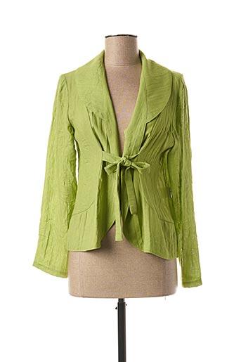 Veste casual vert MULTIPLES pour femme