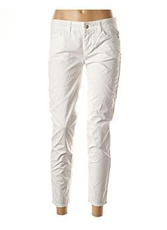 Pantalon 7/8 blanc LIU JO pour femme