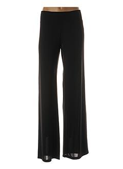 Pantalon chic noir ELEONORA AMADEI pour femme