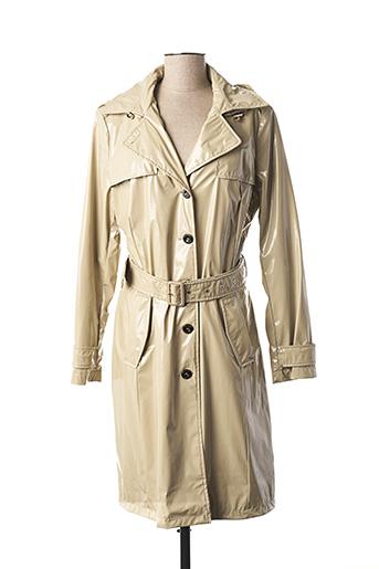 Imperméable/Trench beige BEAUMONT pour femme
