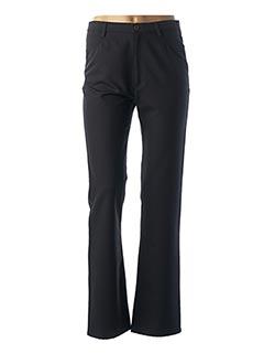 Pantalon casual noir K'TENDANCES pour femme