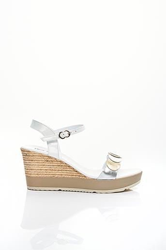 Escarpins blanc FLEUR DE PEAU pour femme