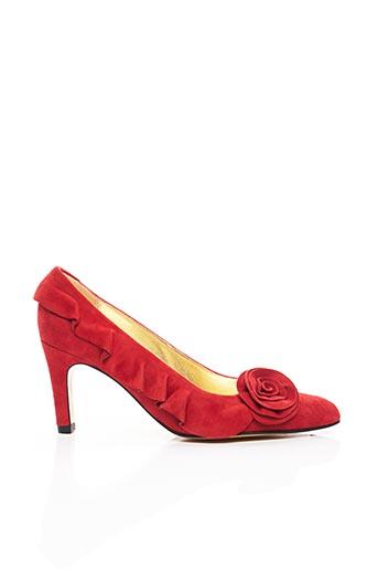 Escarpins rouge AZUREE pour femme
