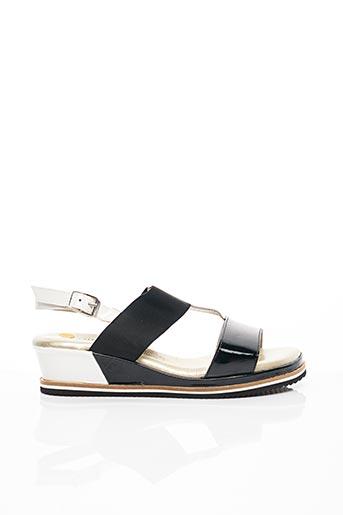 Sandales/Nu pieds noir J.METAYER pour femme