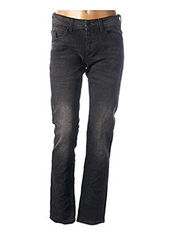 Jeans coupe slim noir KENZARRO pour homme