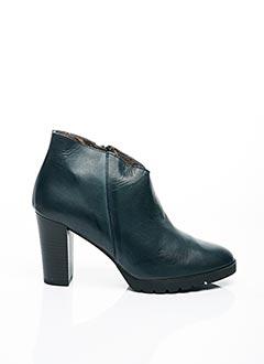 Bottines/Boots bleu B.D.A. pour femme