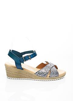 Sandales/Nu pieds bleu BLU SANDAL pour femme