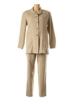 Veste/pantalon beige PAUL MAUSNER pour femme
