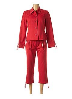 Veste/pantalon rouge PAUL MAUSNER pour femme