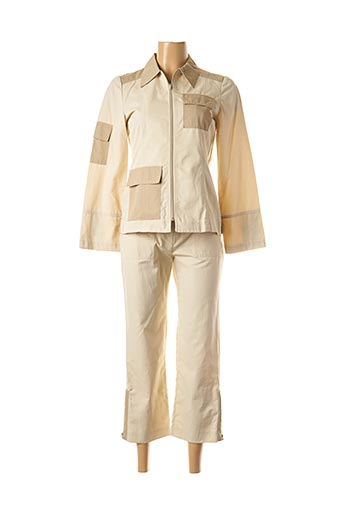 Veste/pantalon beige FELINO pour femme