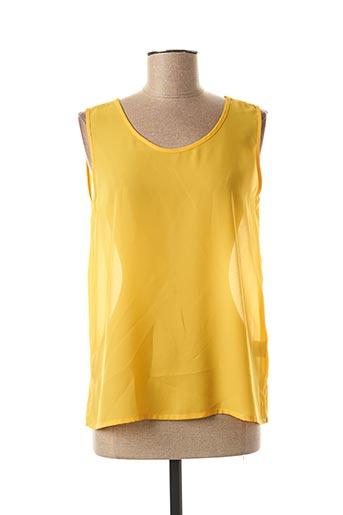 Top jaune JEAN DELFIN pour femme