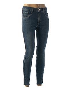 Jeans skinny bleu PARA MI pour femme