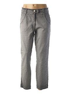 Pantalon 7/8 gris CECIL pour femme