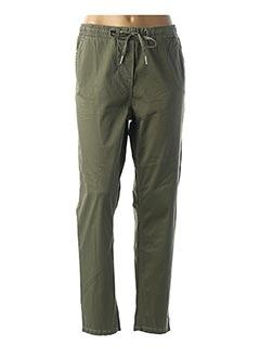 Pantalon casual vert CECIL pour femme