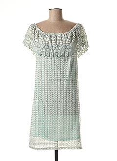 Robe mi-longue bleu MOLLY BRACKEN pour femme