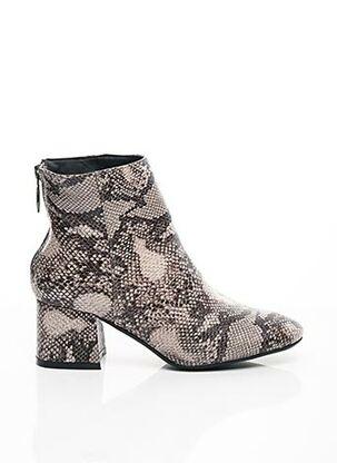 Bottines/Boots gris C'M PARIS pour femme