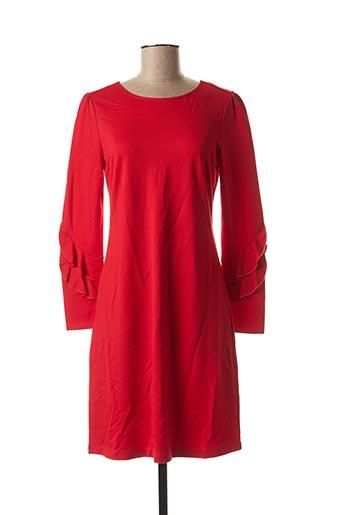 Robe mi-longue rouge ESQUALO pour femme