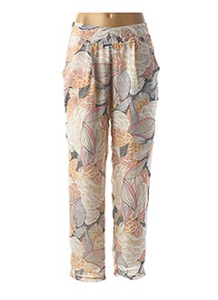 Pantalon chic beige MOLLY BRACKEN pour femme