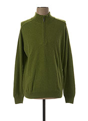 Pull col cheminée vert STOZZI ADRIANO pour homme seconde vue