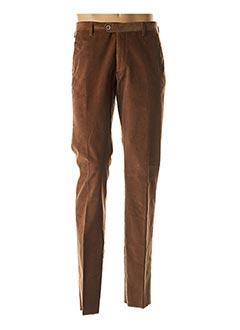 Pantalon chic marron STOZZI ADRIANO pour homme